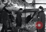 Image of ME-262 aircraft landing gear Germany, 1943, second 10 stock footage video 65675030710