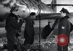 Image of ME-262 aircraft landing gear Germany, 1943, second 11 stock footage video 65675030710