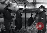 Image of ME-262 aircraft landing gear Germany, 1943, second 12 stock footage video 65675030710