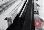 Image of V-1 rocket launcher on rollers Germany, 1947, second 9 stock footage video 65675030734