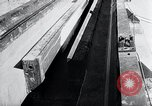 Image of V-1 rocket launcher on rollers Germany, 1947, second 11 stock footage video 65675030734