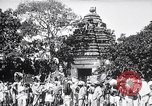 Image of Lord Vishnu chariot procession Puri India, 1931, second 8 stock footage video 65675030765