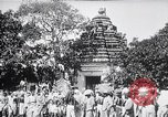 Image of Lord Vishnu chariot procession Puri India, 1931, second 9 stock footage video 65675030765