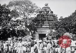 Image of Lord Vishnu chariot procession Puri India, 1931, second 10 stock footage video 65675030765