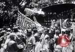 Image of Lord Vishnu chariot procession Puri India, 1931, second 11 stock footage video 65675030765