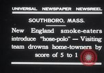 Image of hose polo Southboro Massachusetts USA, 1931, second 2 stock footage video 65675030767