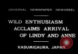 Image of Anne Morrow Lindbergh Kasumigaura Japan, 1931, second 1 stock footage video 65675030771