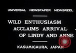 Image of Anne Morrow Lindbergh Kasumigaura Japan, 1931, second 6 stock footage video 65675030771