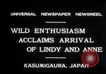 Image of Anne Morrow Lindbergh Kasumigaura Japan, 1931, second 7 stock footage video 65675030771