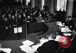 Image of Hans Albin Rauter trial The Hague Netherlands, 1948, second 1 stock footage video 65675030787