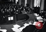 Image of Hans Albin Rauter trial The Hague Netherlands, 1948, second 2 stock footage video 65675030787