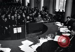 Image of Hans Albin Rauter trial The Hague Netherlands, 1948, second 3 stock footage video 65675030787