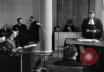 Image of Hans Albin Rauter trial The Hague Netherlands, 1948, second 11 stock footage video 65675030787