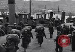 Image of American 5th Division infantry Gourock Scotland, 1943, second 7 stock footage video 65675030886