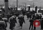 Image of American 5th Division infantry Gourock Scotland, 1943, second 8 stock footage video 65675030886