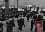 Image of American 5th Division infantry Gourock Scotland, 1943, second 9 stock footage video 65675030886