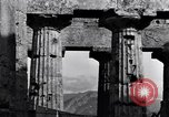Image of Greek temple of Hera Paestum Italy, 1943, second 9 stock footage video 65675030900