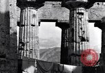Image of Greek temple of Hera Paestum Italy, 1943, second 10 stock footage video 65675030900