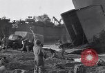 Image of British soldiers landing Salerno Italy, 1943, second 3 stock footage video 65675030911