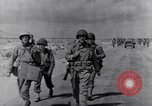 Image of US infantrymen marching Tunisia North Africa, 1943, second 8 stock footage video 65675030917