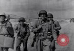 Image of US infantrymen marching Tunisia North Africa, 1943, second 10 stock footage video 65675030917