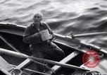 Image of Elderly Italian civilian on US destroyer Salerno Italy, 1943, second 4 stock footage video 65675030927