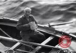 Image of Elderly Italian civilian on US destroyer Salerno Italy, 1943, second 5 stock footage video 65675030927