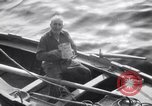 Image of Elderly Italian civilian on US destroyer Salerno Italy, 1943, second 6 stock footage video 65675030927