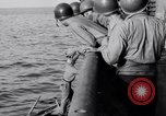 Image of Elderly Italian civilian on US destroyer Salerno Italy, 1943, second 8 stock footage video 65675030927