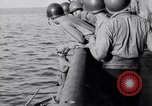 Image of Elderly Italian civilian on US destroyer Salerno Italy, 1943, second 9 stock footage video 65675030927