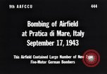 Image of Bombing Pratica di Mare airfield Pratica di Mare Italy, 1943, second 2 stock footage video 65675030941