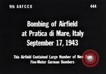 Image of Bombing Pratica di Mare airfield Pratica di Mare Italy, 1943, second 4 stock footage video 65675030941