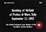 Image of Bombing Pratica di Mare airfield Pratica di Mare Italy, 1943, second 8 stock footage video 65675030941