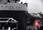 Image of Henry Ford II freighter Lorain Ohio USA, 1924, second 8 stock footage video 65675030951
