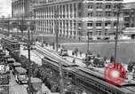 Image of Streetcars Highland Park Michigan USA, 1919, second 2 stock footage video 65675030971