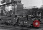 Image of Ford railcars with coal Dearborn Michigan USA, 1918, second 10 stock footage video 65675030976