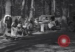 Image of family camping United States USA, 1919, second 4 stock footage video 65675030988