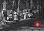 Image of family camping United States USA, 1919, second 6 stock footage video 65675030988