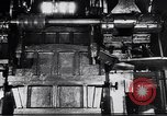 Image of Metal pressing machine Dearborn Michigan USA, 1930, second 2 stock footage video 65675031014