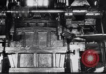 Image of Metal pressing machine Dearborn Michigan USA, 1930, second 3 stock footage video 65675031014