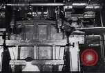 Image of Metal pressing machine Dearborn Michigan USA, 1930, second 6 stock footage video 65675031014