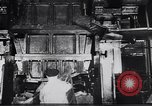 Image of Metal pressing machine Dearborn Michigan USA, 1930, second 10 stock footage video 65675031014