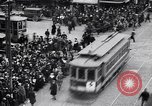 Image of busy intersection United States USA, 1920, second 12 stock footage video 65675031017