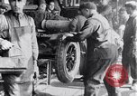 Image of Ford Motor Company assembly line Highland Park Michigan USA, 1917, second 8 stock footage video 65675031026