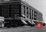 Image of Traffic on streets of Detroit Detroit Michigan USA, 1917, second 2 stock footage video 65675031040