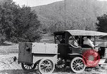 Image of road side camping United States USA, 1917, second 7 stock footage video 65675031042