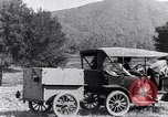 Image of road side camping United States USA, 1917, second 9 stock footage video 65675031042