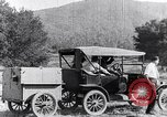 Image of road side camping United States USA, 1917, second 10 stock footage video 65675031042