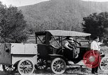 Image of road side camping United States USA, 1917, second 11 stock footage video 65675031042