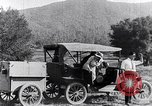 Image of road side camping United States USA, 1917, second 12 stock footage video 65675031042